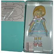 SALE Madame Alexander Felt Wendy Doll in Collector Tin