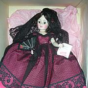 Madame Alexander Goya Portrait Doll Mint in Box 21 inches