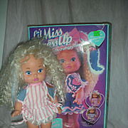 Vintage Mattel Lil Miss Makeup Doll Little Dolls with Box