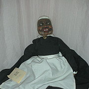 Artist Mammy Doll from Gone with the Wind Wooden Doll