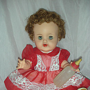 Vintage Ideal Betsy Wetsy Drink and Wet Baby Doll