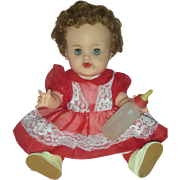SALE PENDING Vintage Ideal Betsy Wetsy Drink and Wet Baby Doll