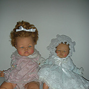 2 Vintage Ideal Thumbelina Dolls 1960s