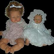2 Vintage Ideal Thumbelina Dolls 1960s