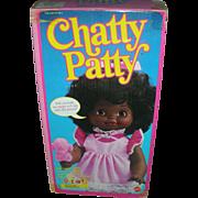 Vintage Mattel Chatty Patty Talking Brown Doll NRFB