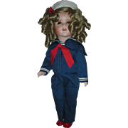 All Bisque Shirely Temple Artist Doll