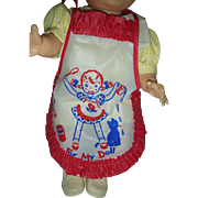 """Vintage Vinyl Doll Bib """"For My Doll"""" to Fit Betsy Wetsy or Tiny Tears drink ..."""