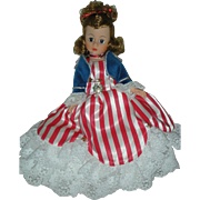 Madame Alexander Miss Liberty Cissette Doll Club Doll from 1991