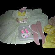 SALE PENDING Vintage Madame Alexander Cissy Doll 1950s Dress Complete Set