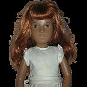 Vintage 1980s Sasha Red Head Doll with Original Dress