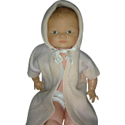 Vintage Cameo 1960s Miss Peep Baby Molded Hair Doll
