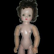 Vintage Madame Alexander 1950s Brunette Cissy Doll 20 inch to Restore