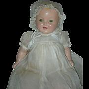 HTF Small Version 15 inch all Vintage Original Effanbee Baby Lovums Doll