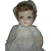 Madame Alexander Baby Genius Doll Composition 24 inch Large Mama Doll