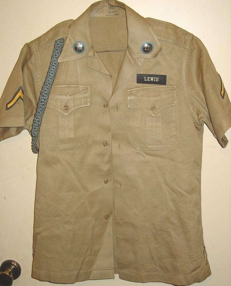 Khaki Army Uniform 56