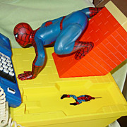 SOLD The Amazing Spider-Man 1984 Telephone Spiderman Phone Marvel Comic Book Hero