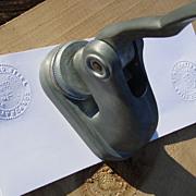 Pratco Steel Corporation  N.Y. Embosser Embossing Seal Stamp Incorporated 1960