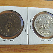 REDUCED Canada Coins Calgary Centennial Stampede 1975 Dollar Commemorative Saskatchewan Lily