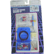 REDUCED Edu Science Electric Motor Building Kit Battery Operated 1989 Geoffrey Made in Japan T