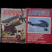 REDUCED AirPower Magazine Volume 1 No 1 Sept 1971 Corsair Airplane Combat Vol 3 No 3 C-46