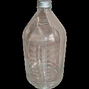 REDUCED Abbott Laboratories Hanging IV Glass Bottle 1000ml Medical Lactate Ringer's Cap Medici