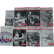 REDUCED Boy Scouts Merit Badge Series Books Hiking Backpacking Canoeing Aviation & Songbook