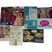 Recipes Cookbooks Planters Peanut Quaker Oats Pillsbury Kitchen Bouquet Westinghouse