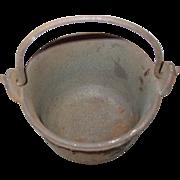 REDUCED A.L. Swett Co Cast Iron Pot #5 Lead Melting Glue Cauldron Smelting