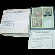 SOLD 3 Gates of Jerusalem Toby Maude Originals Miniatures Israel Box Set Historical Stone