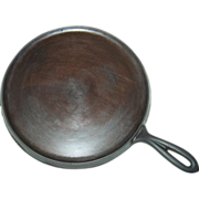 REDUCED Erie No.9 Hand Griddle 739 Cast Iron 1885-1905 Regular Round Fire Ring Pan