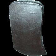 SALE PENDING Collins Legitimus Axe Head Single Bit Crown Arm with Hammer Logo Woodworking Tool