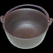 REDUCED A.L. Swett Co 3 Quart Cast Iron Pot #8 Lead Melting Glue Cauldron Smelting Pan