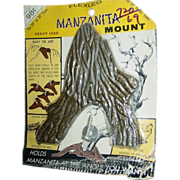 Manzanita Mount Wood Driftwood Branch Bonsai Lead Base Centerpiece Bird Perch