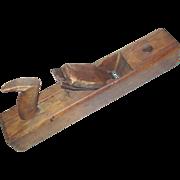 "Auburn Tool Co #12 Wood Block Plane 16"" New York Woodworking Carpentry 1863-93"