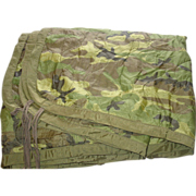 REDUCED Military Liner Wet Weather Poncho Woodland Camouflage Field Blanket Sleeping Woobie