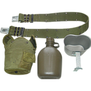 REDUCED Military Canteen Cup Nylon Web Belt Size Medium Equipment Hunting Hiking Camping