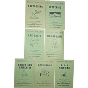 Military WWII Handicraft Guide Armed Forces Popular Mechanics Books Axe Tin Craft