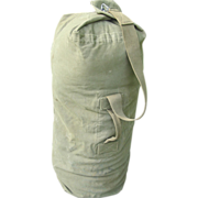 Military Bag Duffel WWII Duffle 1943 Tweedies Army USMC Sea Air Force