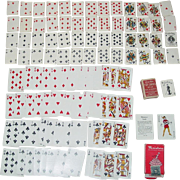 Little Duke Toy US Playing 1919 Cards No. 24 Deck & WWII Military Miniature Victorian ...