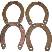 Giant Grip Driving Horse Shoe Oshkosh Wisconsin Size 7-F H Horseshoe Set of 4