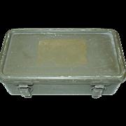 U.S. Military 1967 First Aid Kit Vietnam War Empty Case Arrow B'klyn N ...