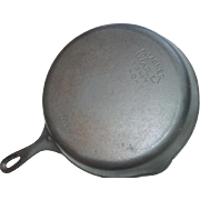 Wagner Ware Sidney -O- No. 10 Cast Iron Skillet 1060 E Smooth Bottom Frying Pan