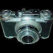 Edinex pronto 35mm Film Camera Wirgin Wiesbaden Germany Edinar Lens