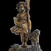 SOLD Karl Kauba (1865-1922) Vienna Bronze figure, ca.1910