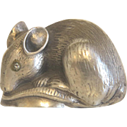 Russian silver mouse, early 20th century