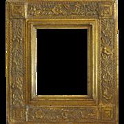 Antique Art Nouveau Gilt wood frame, ca. 1900