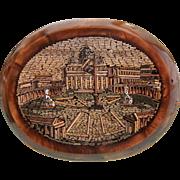 Antique Roman Micro Mosaic, ca.1840