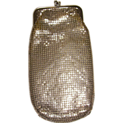 Vintage Whiting & Davis Co. Mesh Cigarette or Glasses Case