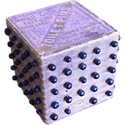 Victorian Toilet Pins In Cube Made in Germany