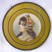 Victorian Gypsy Lady Flue Cover